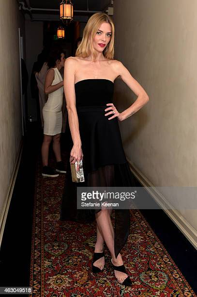 Actress Jaime King attends the Warner Music Group annual Grammy celebration at Chateau Marmont on February 8 2015 in Los Angeles California