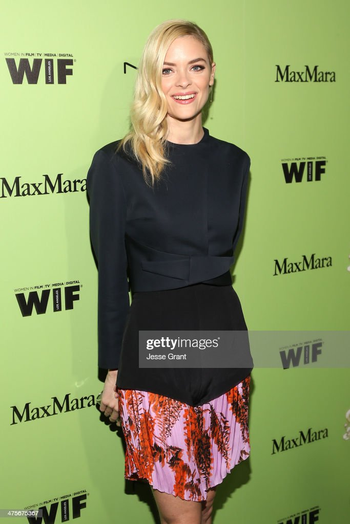 Actress <a gi-track='captionPersonalityLinkClicked' href=/galleries/search?phrase=Jaime+King+-+Actress&family=editorial&specificpeople=206809 ng-click='$event.stopPropagation()'>Jaime King</a> attends the Women In Film Pre-Oscar Cocktail Party presented by Perrier-Jouet, MAC Cosmetics & MaxMara at Fig & Olive Melrose Place on February 28, 2014 in West Hollywood, California.
