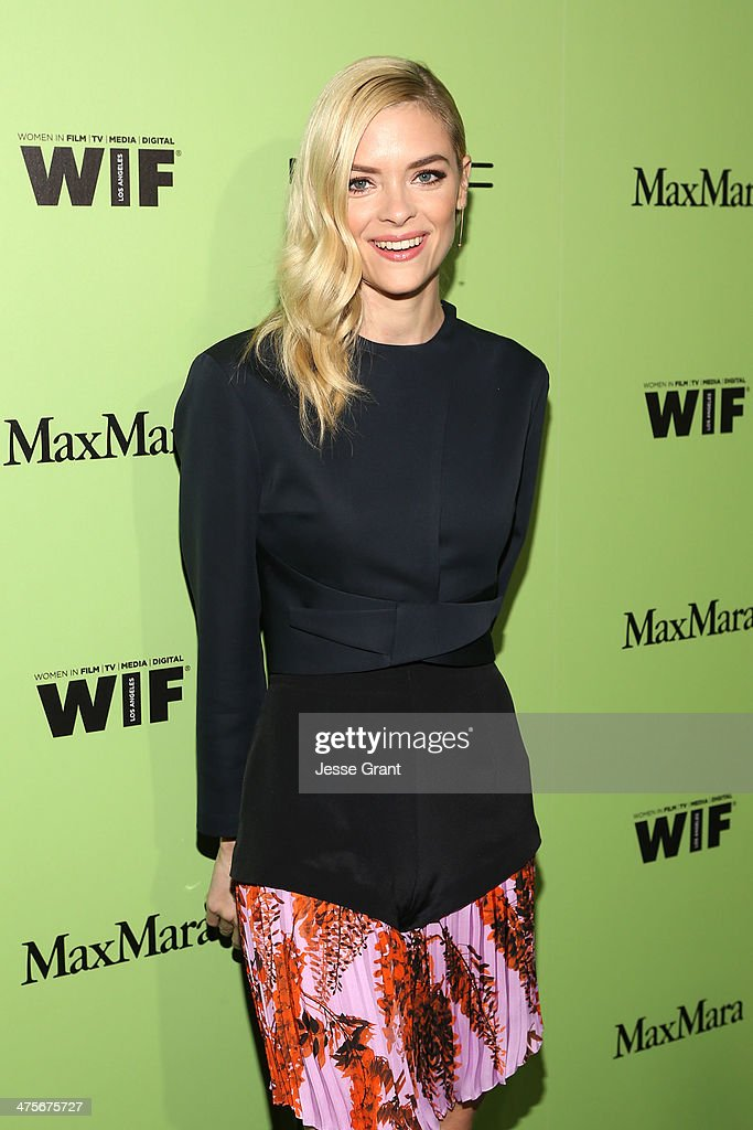 Actress Jaime King attends the Women In Film Pre-Oscar Cocktail Party presented by Perrier-Jouet, MAC Cosmetics & MaxMara at Fig & Olive Melrose Place on February 28, 2014 in West Hollywood, California.