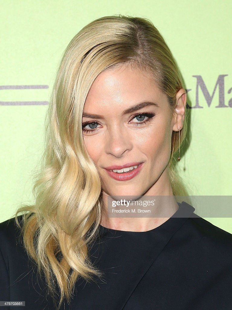Actress Jaime King attends the Women in Film Pre-Oscar Cocktail Party Presented by Perrier-Jouet, MAC & MaxMara at the Fig & Olive Melrose Place on February 28, 2014 in West Hollywood, California.
