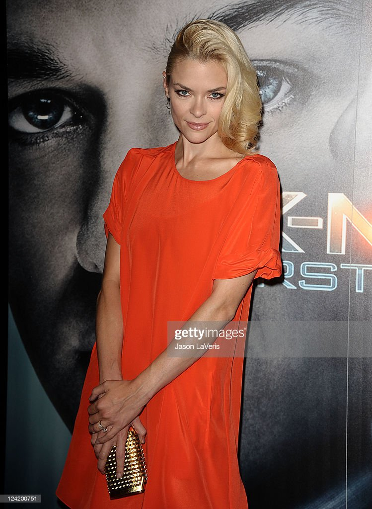 Actress <a gi-track='captionPersonalityLinkClicked' href=/galleries/search?phrase=Jaime+King+-+Actress&family=editorial&specificpeople=206809 ng-click='$event.stopPropagation()'>Jaime King</a> attends the 'X-Men: First Class' 3D projection party at The Roosevelt Hotel on September 8, 2011 in Hollywood, California.