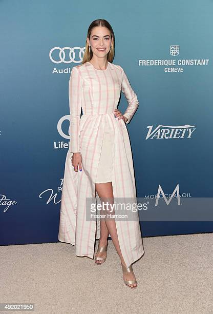 Actress Jaime King attends Variety's Power Of Women Luncheon at the Beverly Wilshire Four Seasons Hotel on October 9 2015 in Beverly Hills California