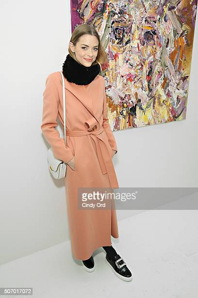 Actress Jaime King attends Voyeur by Vanessa Prager hosted by Fred Armisen at The Hole on January 26 2016 in New York City