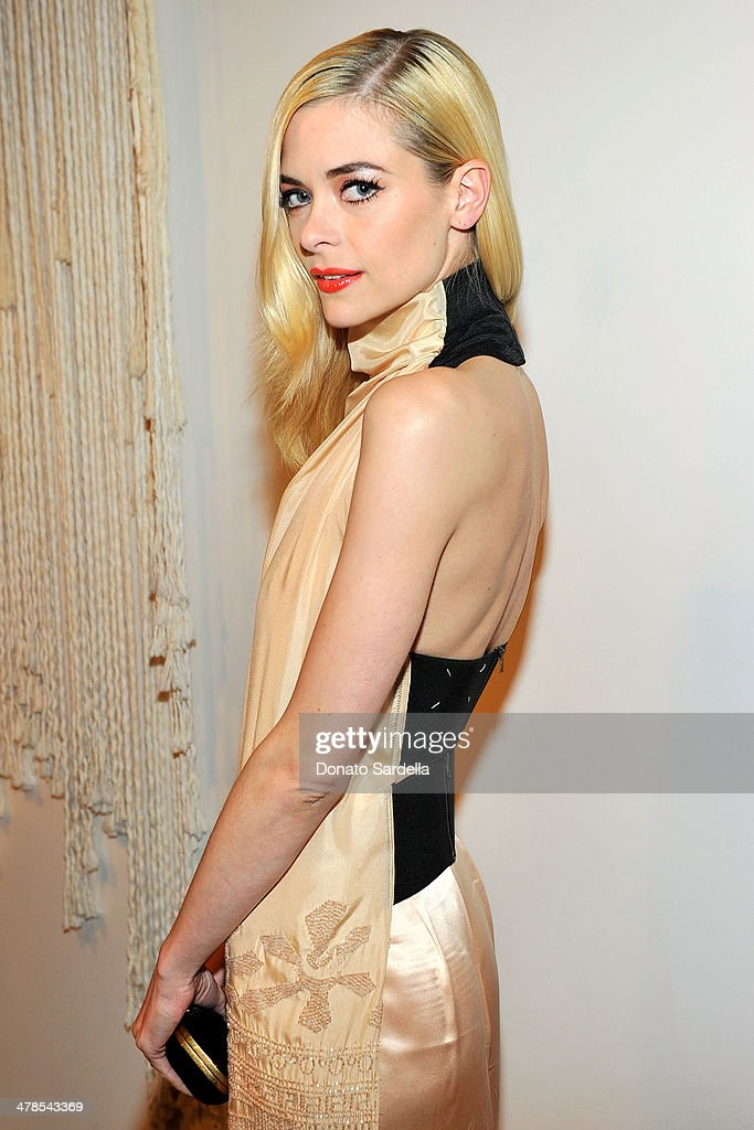 Actress <a gi-track='captionPersonalityLinkClicked' href=/galleries/search?phrase=Jaime+King+-+Actress&family=editorial&specificpeople=206809 ng-click='$event.stopPropagation()'>Jaime King</a> celebrates the launch of Hunters Alley at The Unique Space on March 13, 2014 in Los Angeles, California.