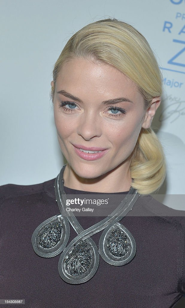 Actress Jaime King celebrates the launch of Rachel ZoeÕs ÒMajor Must HavesÓ from Jockey at Sunset Tower on October 17, 2012 in West Hollywood, California.