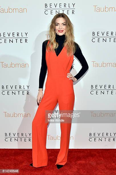 Actress Jaime King celebrates the renovation announcement of the Reimagined Beverly Center on March 7 2016 in Los Angeles California