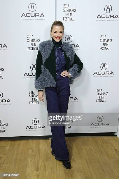 Actress Jaime King of 'Bitch' attends the Acura Studio during Sundance Film Festival on January 22 2017 in Park City Utah