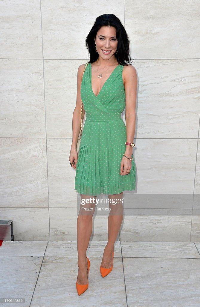 Actress Jaime Murray arrives at the Showtime Celebrates 8 Seasons Of 'Dexter' at Milk Studios on June 15 2013 in Hollywood California