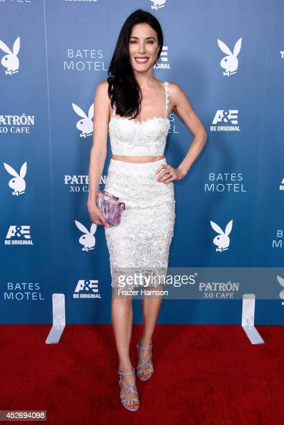 Actress Jaime Murray attends Playboy and AE 'Bates Motel' Event during ComicCon International 2014 on July 25 2014 in San Diego California