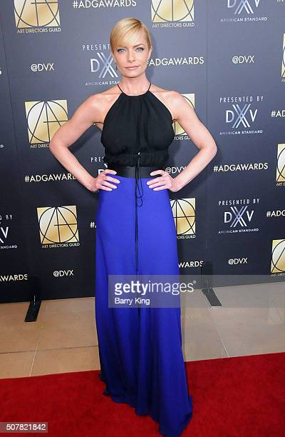 Actress Jaime Pressly attends Art Directors Guild 20th Annual Excellence in Production Awards at The Beverly Hilton Hotel on January 31 2016 in...