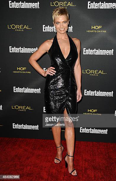 Actress Jaime Pressly attends the 2014 Entertainment Weekly preEmmy party at Fig Olive Melrose Place on August 23 2014 in West Hollywood California