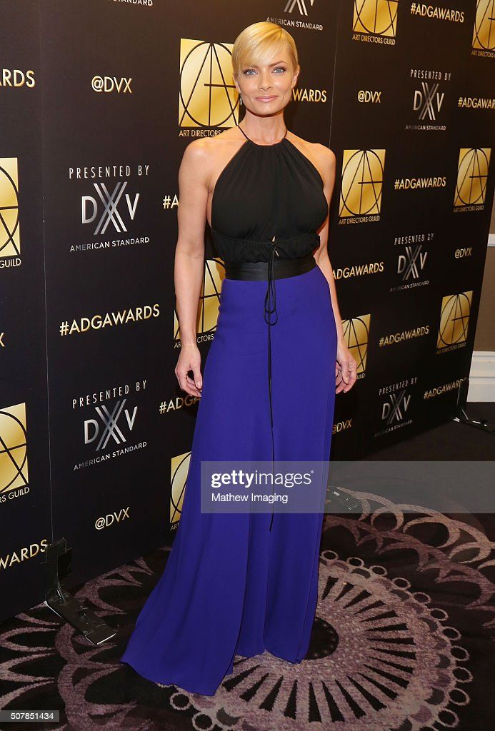 Actress Jaime Pressly attends the 20th Annual Art Directors Guild Excellence In Production Design Awards at The Beverly Hilton Hotel on January 31...