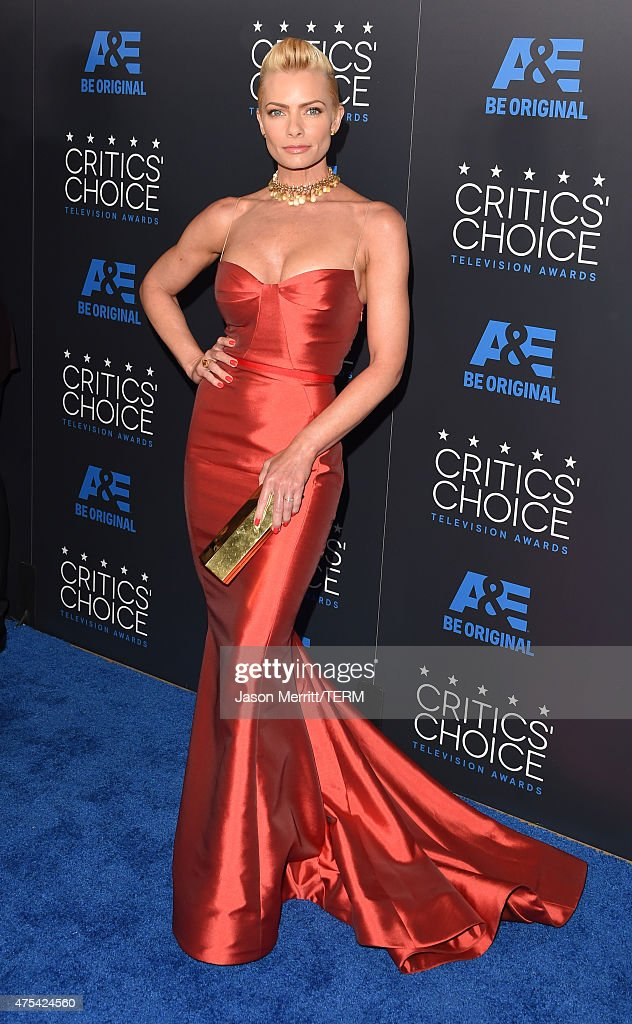Actress Jaime Pressly attends the 5th Annual Critics' Choice Television Awards at The Beverly Hilton Hotel on May 31, 2015 in Beverly Hills, California.
