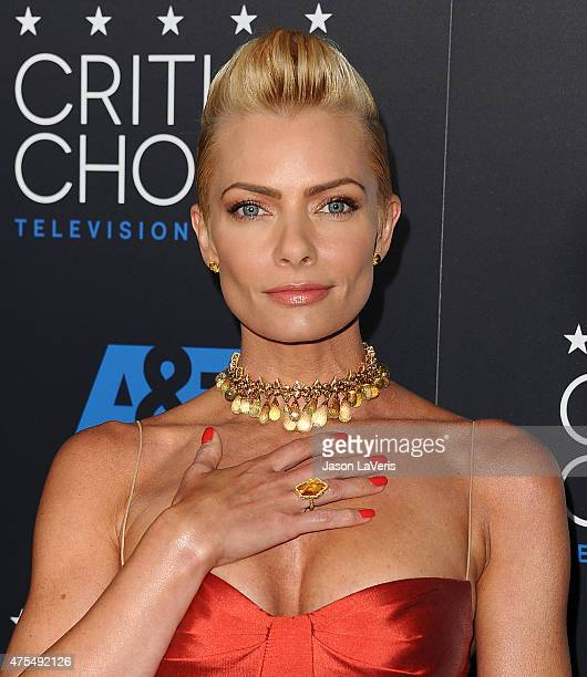 Actress Jaime Pressly attends the 5th annual Critics' Choice Television Awards at The Beverly Hilton Hotel on May 31 2015 in Beverly Hills California