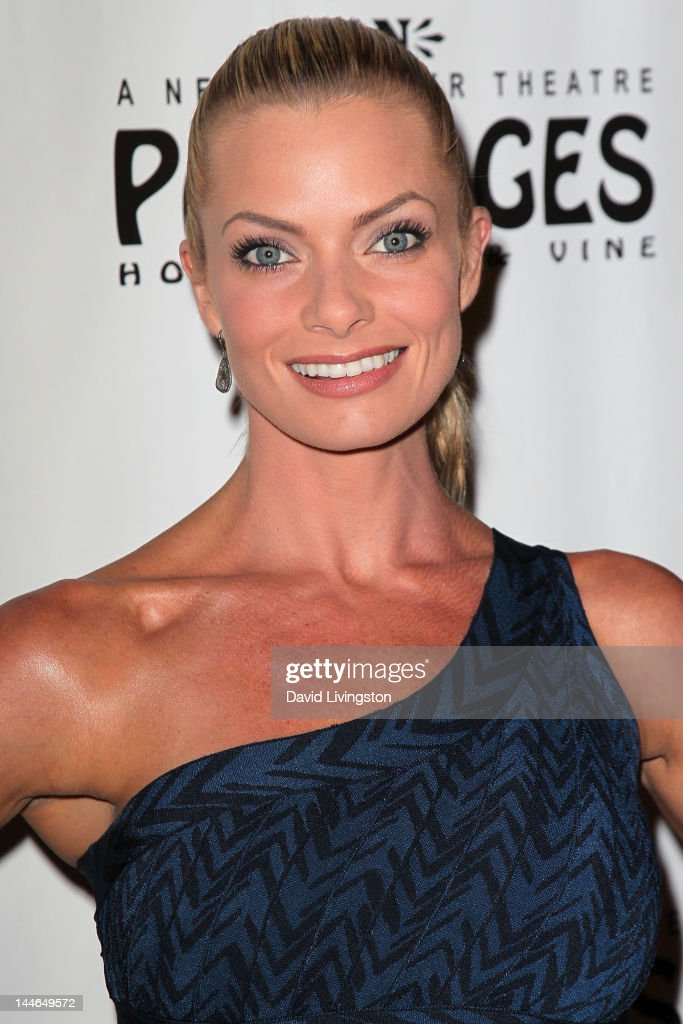 Actress Jaime Pressly attends the opening night of 'Chicago' at the Pantages Theatre on May 16, 2012 in Hollywood, California.