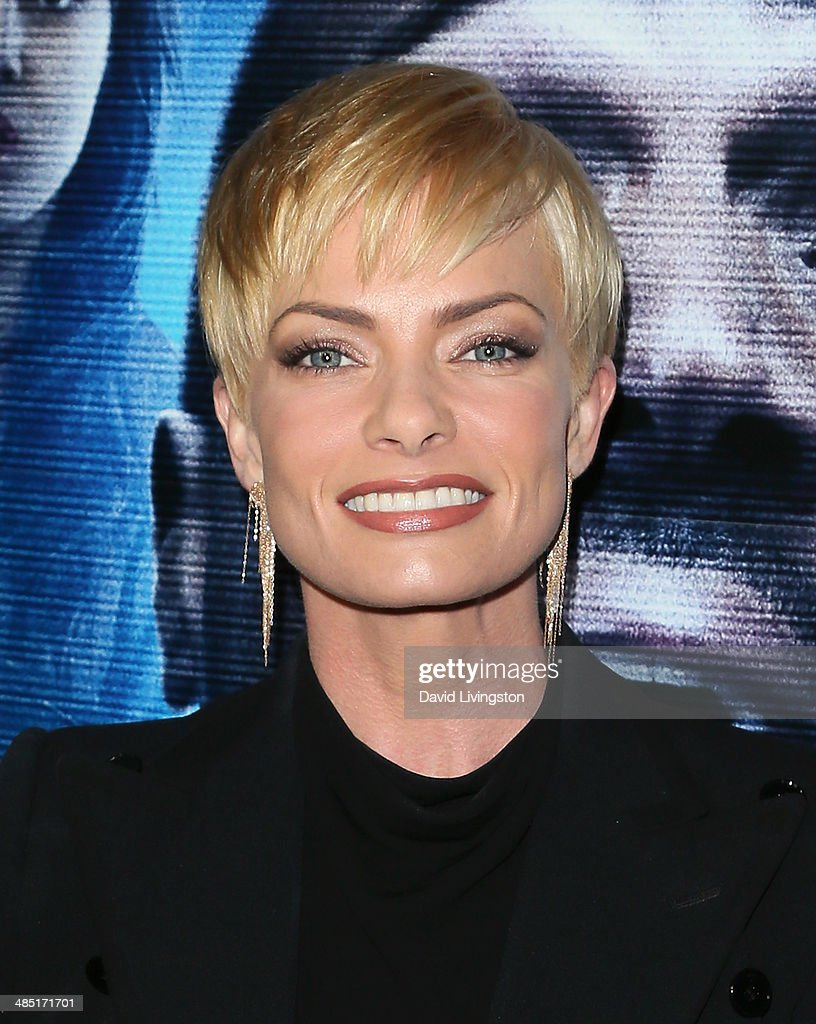 Actress Jaime Pressly attends the premiere of Open Road Films' 'A Haunted House 2' at Regal Cinemas L.A. Live on April 16, 2014 in Los Angeles, California.
