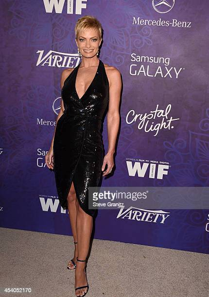 Actress Jaime Pressly attends Variety and Women in Film Annual PreEmmy Celebration at Gracias Madre on August 23 2014 in West Hollywood California