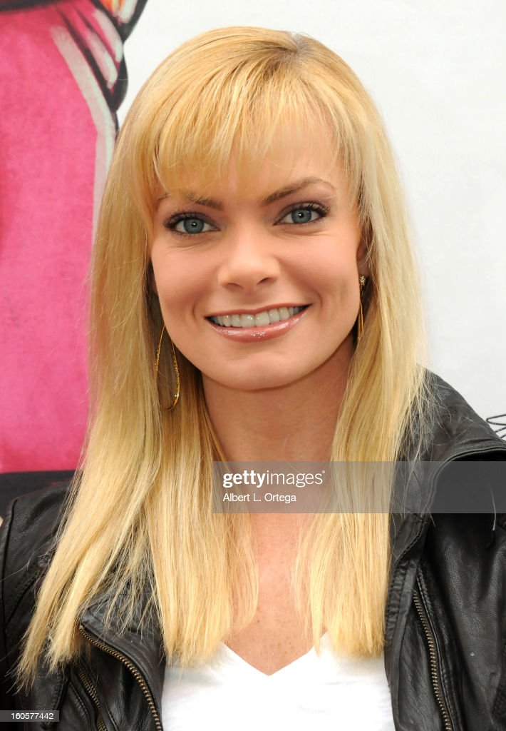 Actress Jaime Pressly hosts the Stan Lee Children Book Label 'Kids Universe Day' Unveiling held at Giggles 'N' Hugs on February 2, 2013 in Century City, California.
