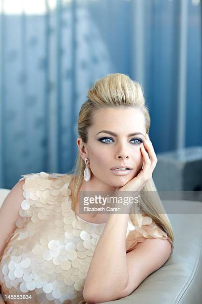 Actress Jaime Pressly is photographed for Viva on October 16 2011 in Los Angeles California PUBLISHED IMAGE