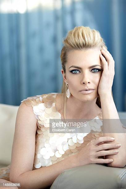 Actress Jaime Pressly is photographed for Viva on October 16 2011 in Los Angeles California