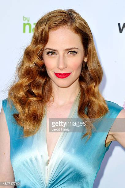 Actress Jaime Ray Newman attends the Kitty Bungalow Charm School for Wayward Cats presents CATbaret on August 1 2015 in Hollywood California