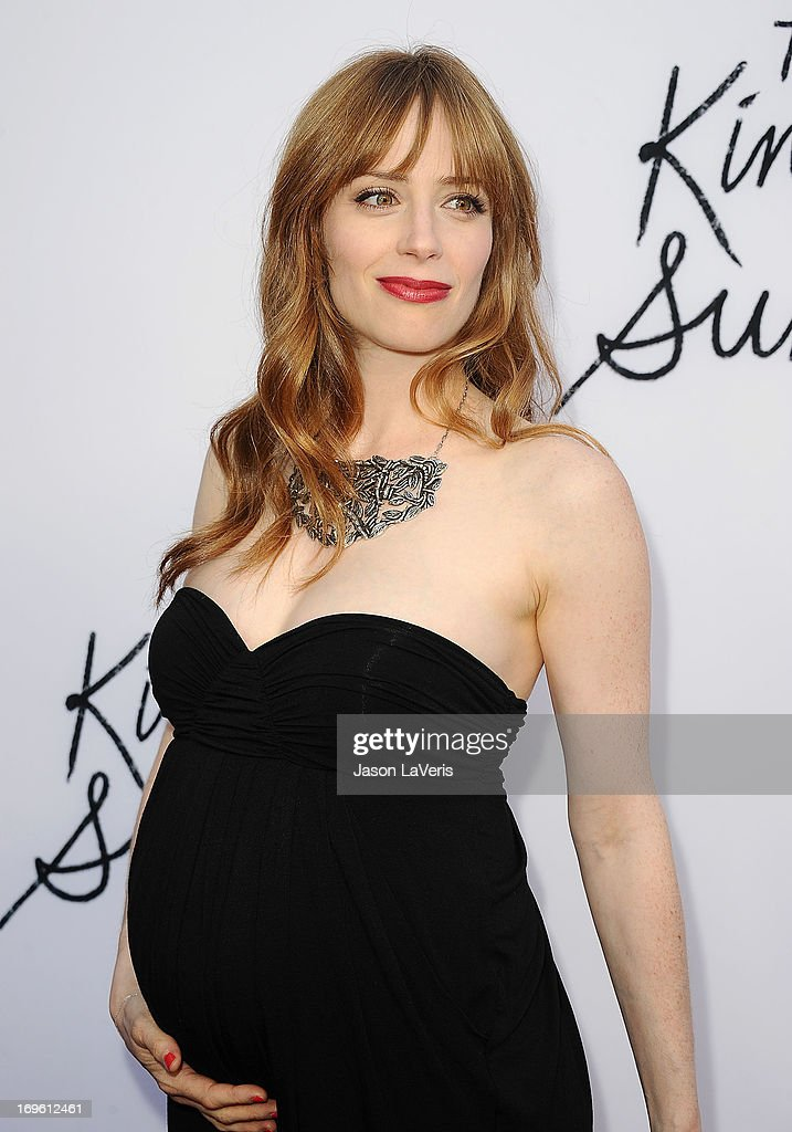 Actress Jaime Ray Newman attends the premiere of 'The Kings Of Summer' at ArcLight Cinemas on May 28, 2013 in Hollywood, California.