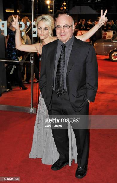 Actress Jaime Winstone and actor Bob Hoskins attend the 'Made in Dagenham' world premiere at the Odeon Leicester Square on September 20 2010 in...