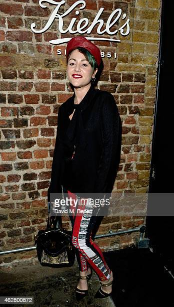 Actress Jaime Winstone attends the Kiehl's VIP Dinner at The Library Club on February 5 2015 in London England
