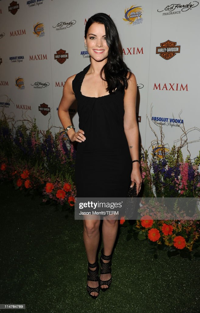 Actress <a gi-track='captionPersonalityLinkClicked' href=/galleries/search?phrase=Jaimie+Alexander&family=editorial&specificpeople=544496 ng-click='$event.stopPropagation()'>Jaimie Alexander</a> arrives at the 11th annual Maxim Hot 100 Party with Harley-Davidson, ABSOLUT VODKA, Ed Hardy Fragrances, and ROGAINE held at Paramount Studios on May 19, 2010 in Los Angeles, California.