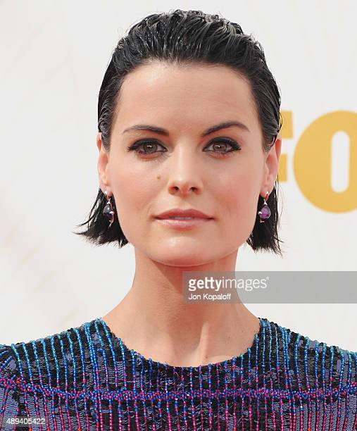 Actress Jaimie Alexander arrives at the 67th Annual Primetime Emmy Awards at Microsoft Theater on September 20 2015 in Los Angeles California