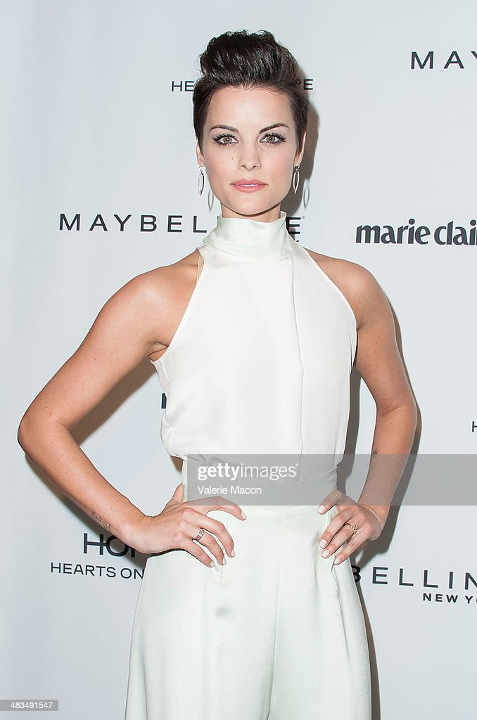 Actress <a gi-track='captionPersonalityLinkClicked' href=/galleries/search?phrase=Jaimie+Alexander&family=editorial&specificpeople=544496 ng-click='$event.stopPropagation()'>Jaimie Alexander</a> arrives at the Marie Claire's Fresh Faces Party at Soho House on April 8, 2014 in West Hollywood, California.