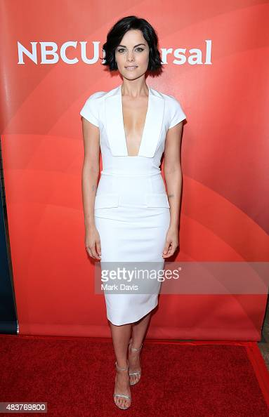 Actress Jaimie Alexander arrives at the NBCUniversal 2015 Summer Press Tour at the Beverly Hilton on August 12 2015 in Beverly Hills California