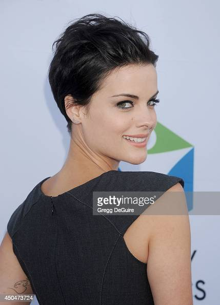 Actress Jaimie Alexander arrives at the Pathway To The Cures For Breast Cancer event at Barkar Hangar on June 11 2014 in Santa Monica California