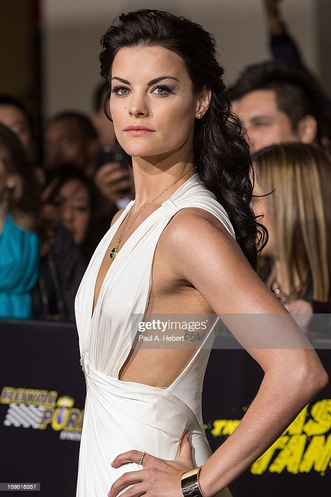Actress Jaimie Alexander arrives at the premiere of Lionsgate Films' 'The Last Stand' held at Grauman's Chinese Theatre on January 14, 2013 in Hollywood, California.