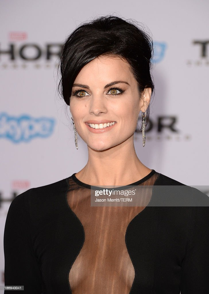 Actress Jaimie Alexander arrives at the premiere of Marvel's 'Thor: The Dark World' at the El Capitan Theatre on November 4, 2013 in Hollywood, California.