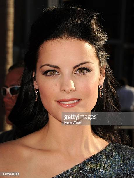 Actress Jaimie Alexander arrives at the premiere of Paramount Pictures' and Marvel's 'Thor' held at the El Capitan Theatre on May 2 2011 in Los...