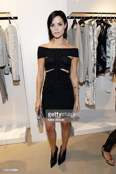 Actress Jaimie Alexander attends designer Barbara Bui celebrates first West Coast visit at her Rodeo Drive boutique on June 12 2013 in Beverly Hills...