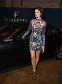 Actress Jaimie Alexander attends GQ and Maserati celebrate the 'GQ Men' book with performances by Mark Ronson at Marvimon on October 16 2013 in Los...