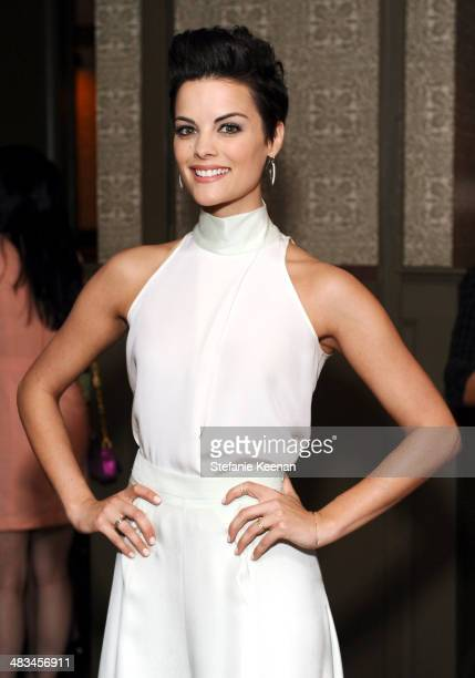 Actress Jaimie Alexander attends Marie Claire Celebrates May Cover Stars on April 8 2014 in West Hollywood California