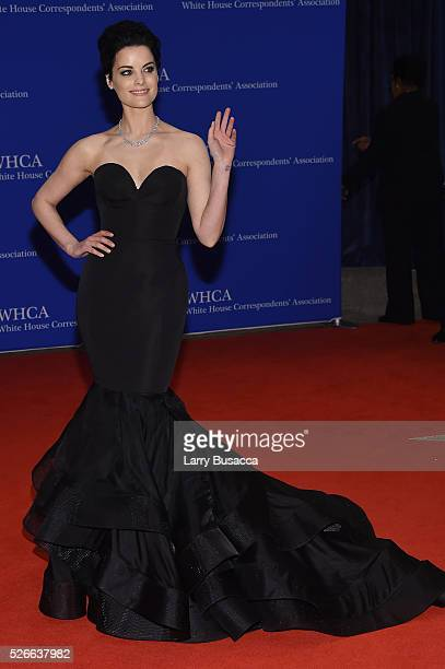 Actress Jaimie Alexander attends the 102nd White House Correspondents' Association Dinner on April 30 2016 in Washington DC