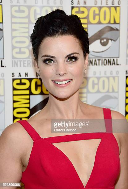 Actress Jaimie Alexander attends the 'Blindspot' Press Line during ComicCon International 2016 at Hilton Bayfront on July 23 2016 in San Diego...