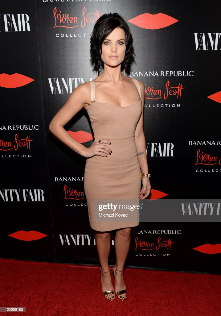 Actress Jaimie Alexander attends the launch celebration of the Banana Republic L'Wren Scott Collection hosted by Banana Republic, L'Wren Scott and Krista Smith at Chateau Marmont on November 19, 2013 in Los Angeles, California.