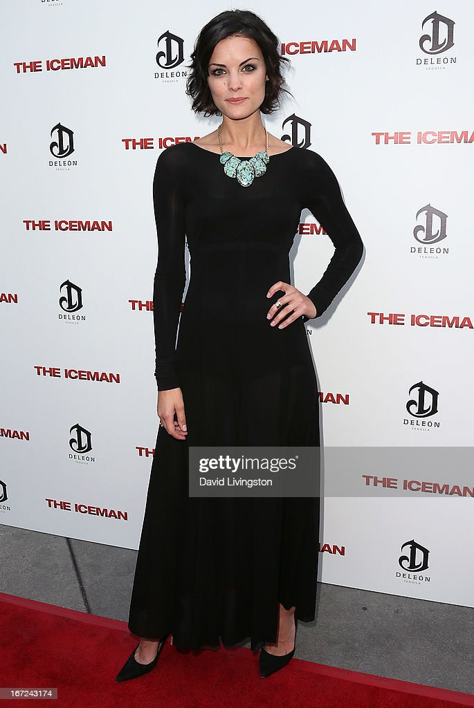 Actress Jaimie Alexander attends the Los Angeles special screening of Millennium Entertainment's 'The Iceman' at ArcLight Hollywood on April 22 2013...