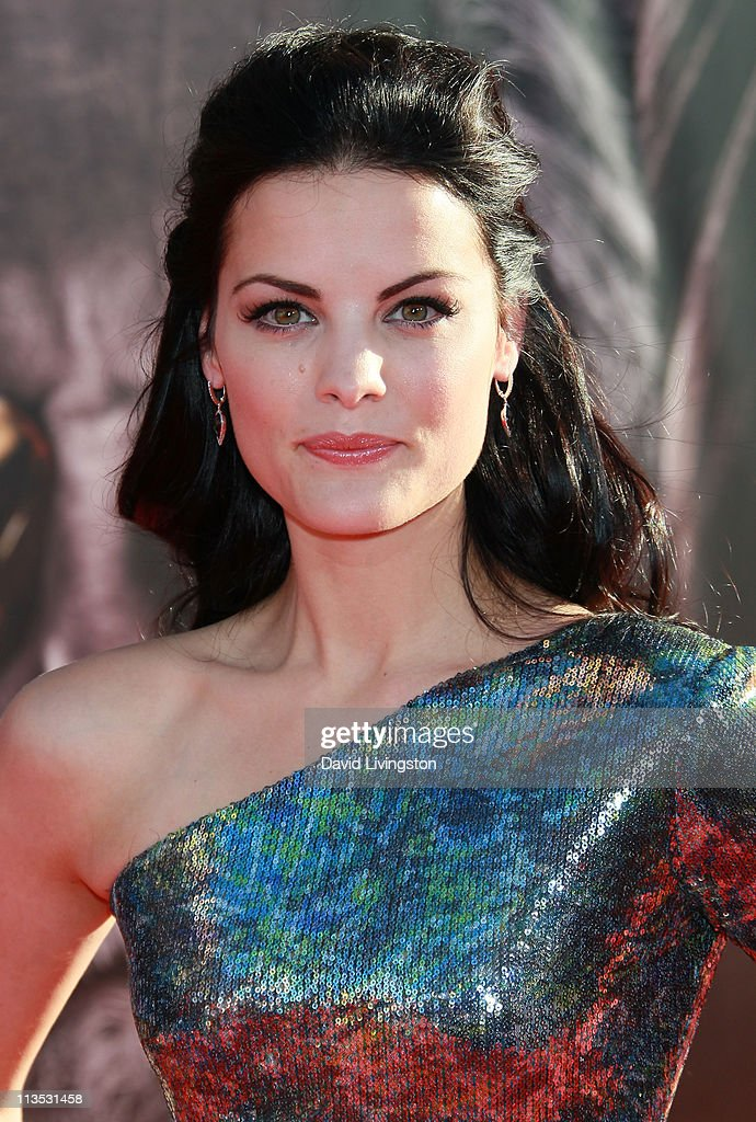 Actress Jaimie Alexander attends the premiere of Paramount Pictures' And Marvel's 'Thor' at the El Capitan Theatre on May 2, 2011 in Los Angeles, California.
