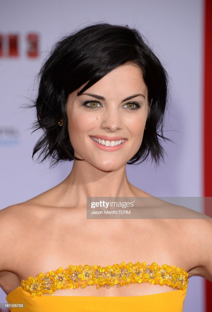 Actress Jaimie Alexander attends the premiere of Walt Disney Pictures' 'Iron Man 3' at the El Capitan Theatre on April 24, 2013 in Hollywood, California.