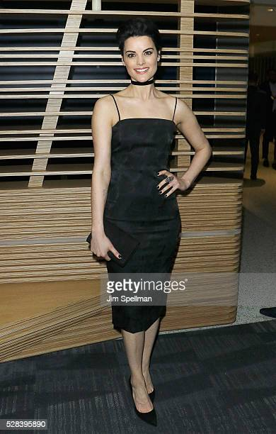 Actress Jaimie Alexander attends the screening after party of Marvel's 'Captain America Civil War' hosted by The Cinema Society with Audi FIJI at...