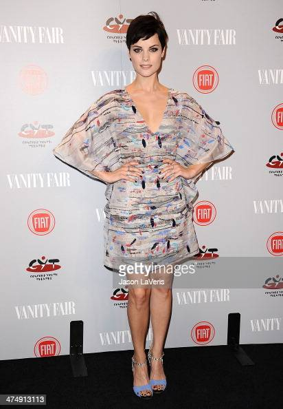 Actress Jaimie Alexander attends the Vanity Fair Campaign Young Hollywood party at No Vacancy on February 25 2014 in Los Angeles California