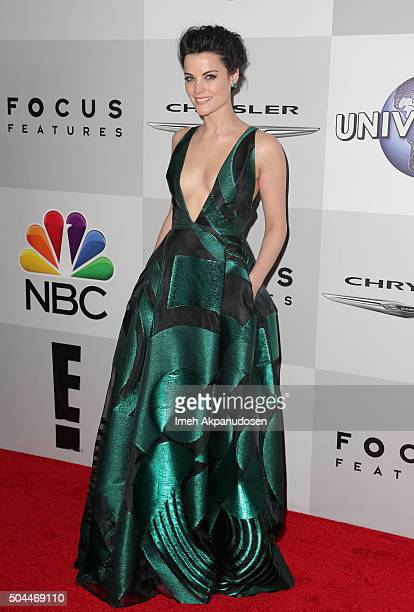 Actress Jaimie Alexander attends Universal NBC Focus Features and E Entertainment Golden Globe Awards After Party sponsored by Chrysler at The...