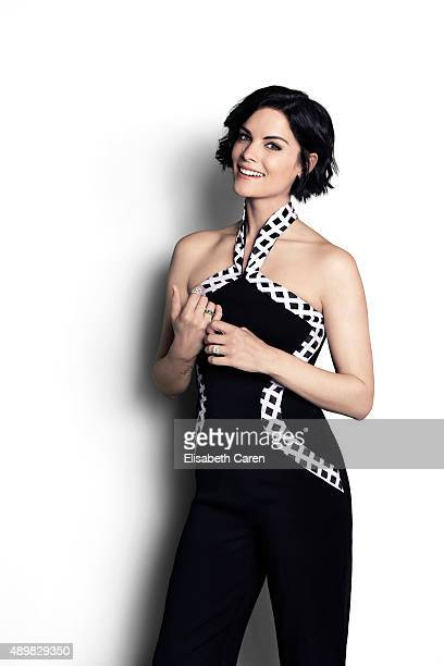Actress Jaimie Alexander is photographed for The Wrap on August 12 2015 in Los Angeles California
