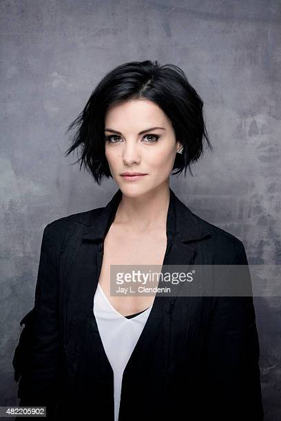 Actress Jaimie Alexander of 'Blindspot' poses for a portrait at ComicCon International 2015 for Los Angeles Times on July 9 2015 in San Diego...
